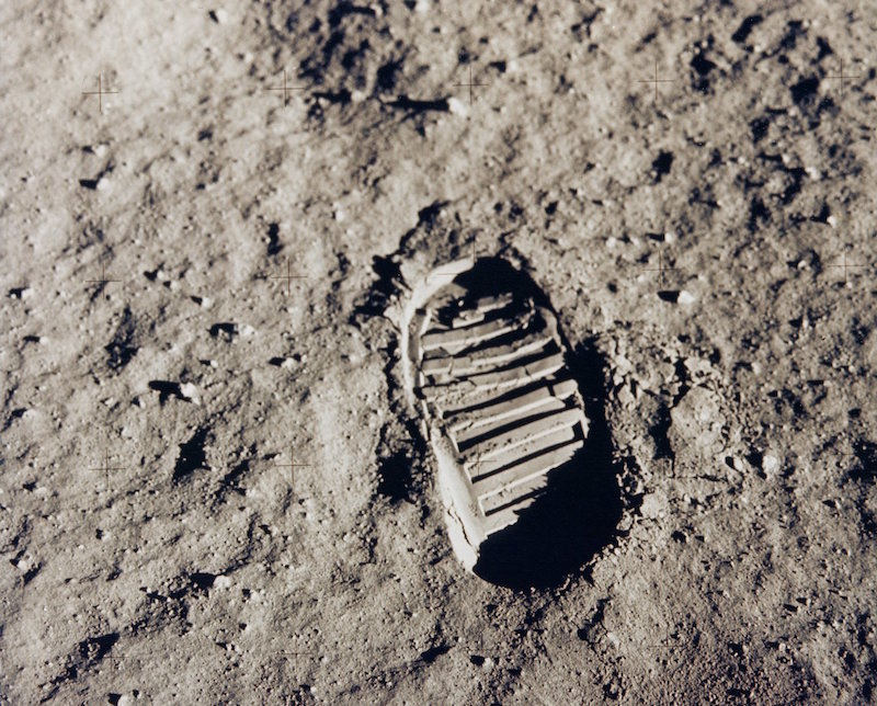 """Apollo 11 Bootprint"" by NASA on The Commons"