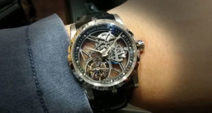 แกะกล่อง – Roger Dubuis Excalibur 42 Skeleton Flying Tourbillon