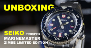 แกะกล่อง – Seiko Prospex Marinemaster Zimbe Limited Edition