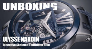 แกะกล่อง – Ulysse Nardin Executive Skeleton Tourbillon Blue